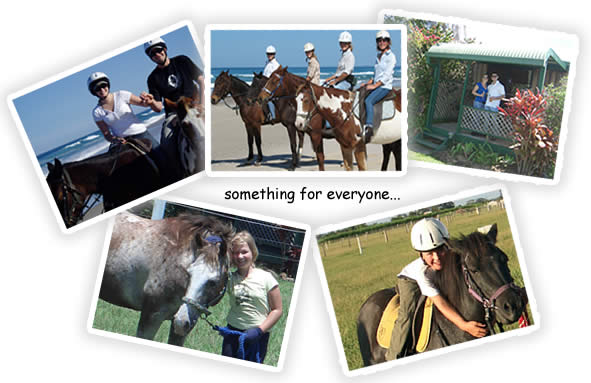 Something for everyone at Tassiriki Ranch Horse Riding & Holiday Cabins